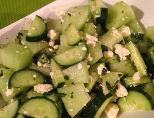 Recipe of the Month: Cucumber Melon Salad