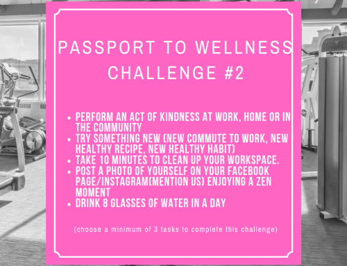 Passport to Wellness Challenge #2