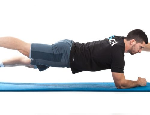 Move of the Week- Plank -Opposite arm and leg lift