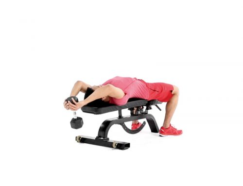 Move of the Week: Lying Dumbbell Pullover