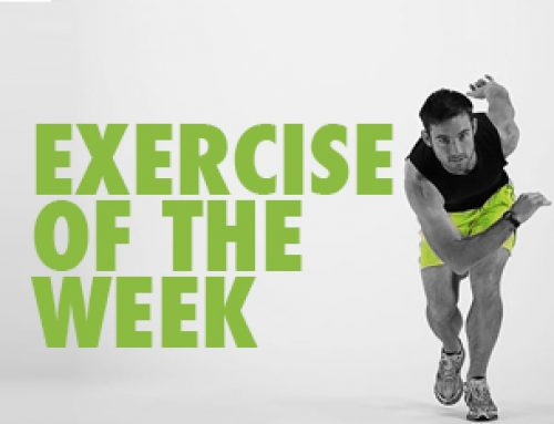 At home Exercise of the Week